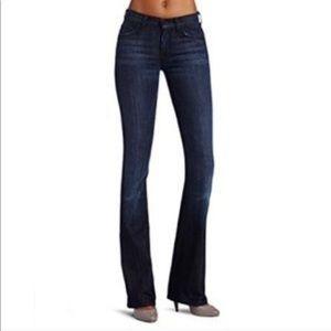 7 jean high waist bootcut jean